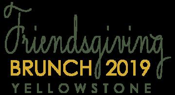 Friendsgiving 2019 logo